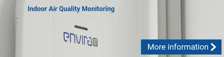 Indoor air quality monitoring in the HORECA sector to prevent the spread of viruses